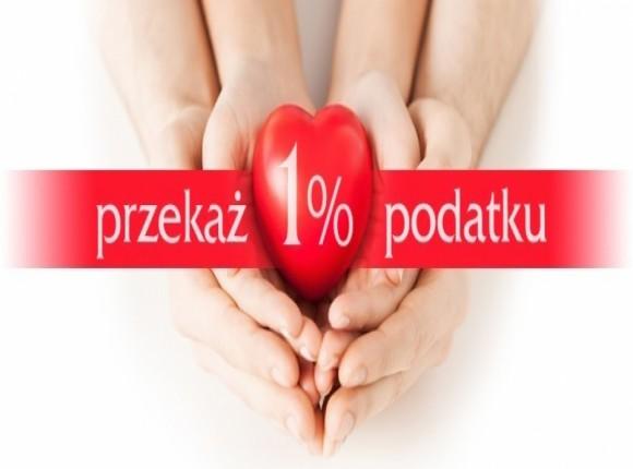 Przekaż 1% podatku dla naszych podopiecznych